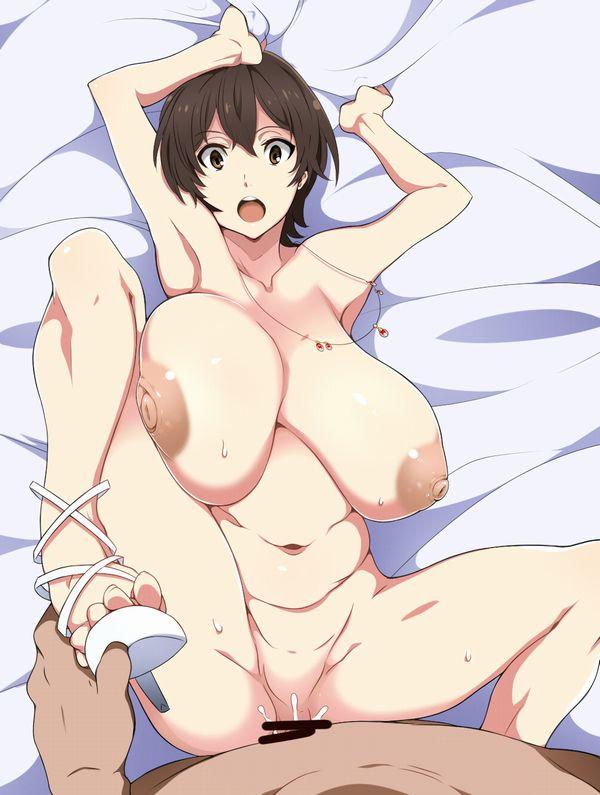 【良い眺め】腕を上げて両腋見せてくれてる正上位セックスの二次エロ画像 【4】