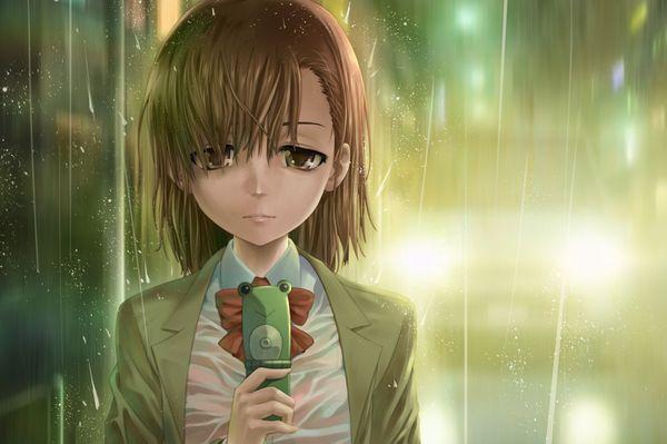 【濡れ濡れJK】雨に濡れた女子高生達の二次エロ画像 【38】