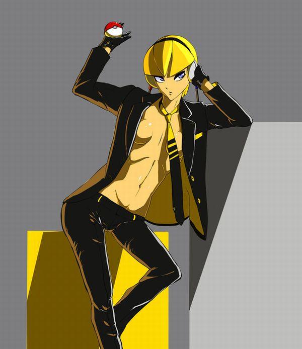 【ポケモン】カミツレ(金髪Ver)のエロ画像【ポケットモンスターBW】 【46】