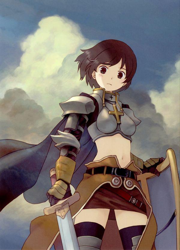 【戦場の慰み者】リアルの戦場だったら速攻ぶっ殺されそうなロリ女騎士・戦士の二次エロ画像【38】