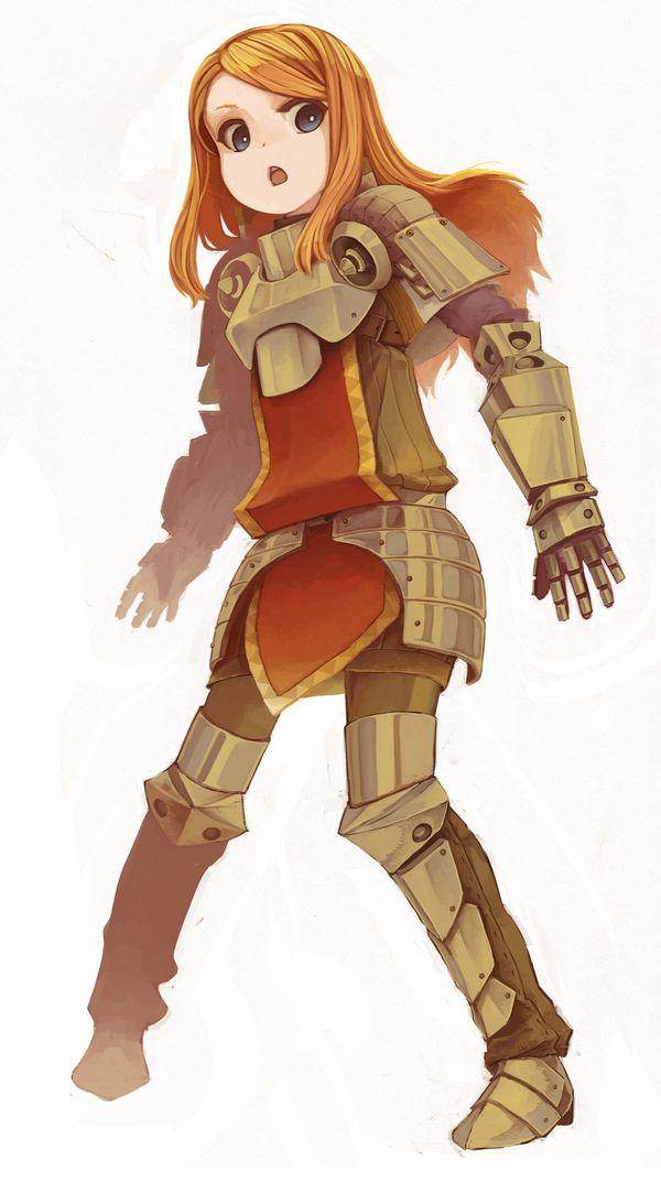 【戦場の慰み者】リアルの戦場だったら速攻ぶっ殺されそうなロリ女騎士・戦士の二次エロ画像【40】
