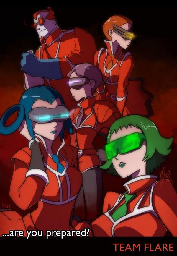 【ポケモン】フレア団のエロ画像(【ポケットモンスターXY】【18】