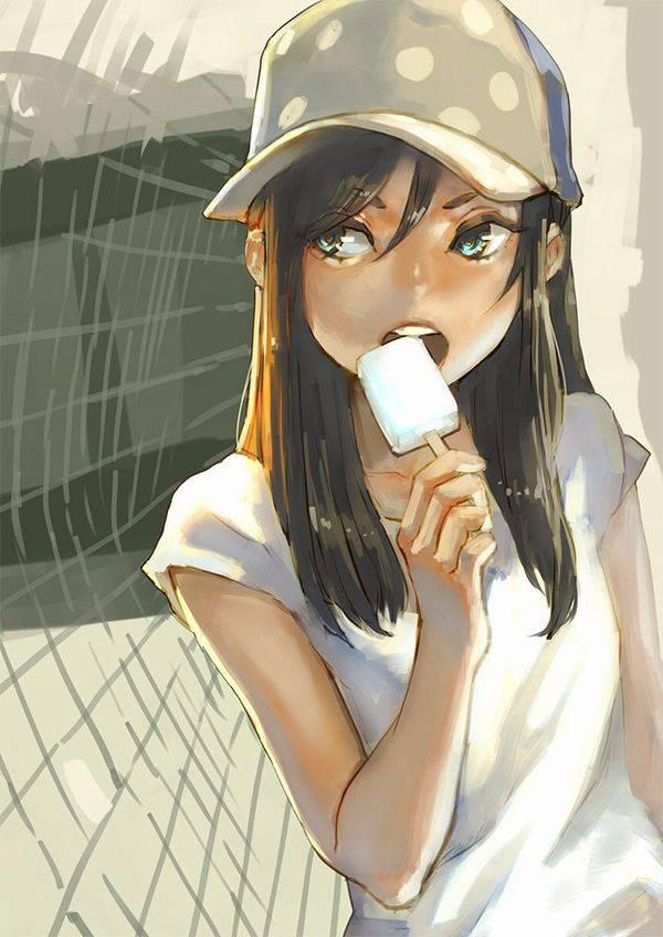 【夏よ来い】ソーダアイス食べてる美少女達の二次エロ画像【35】
