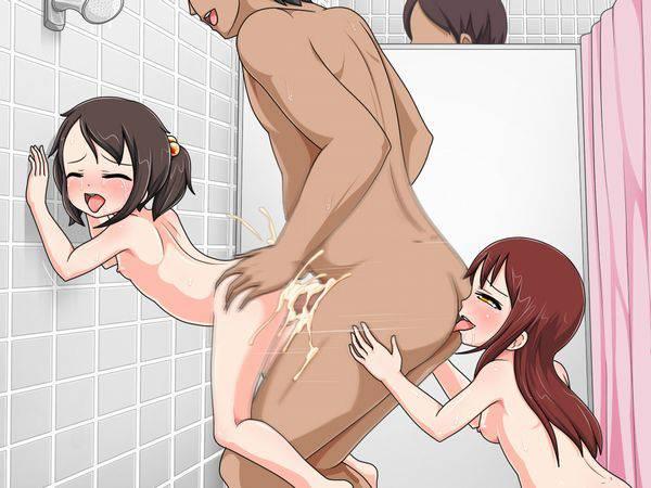 【ブタのアナル舐めちゃうよ】汚いおっさんの肛門を舐めてる二次エロ画像【31】