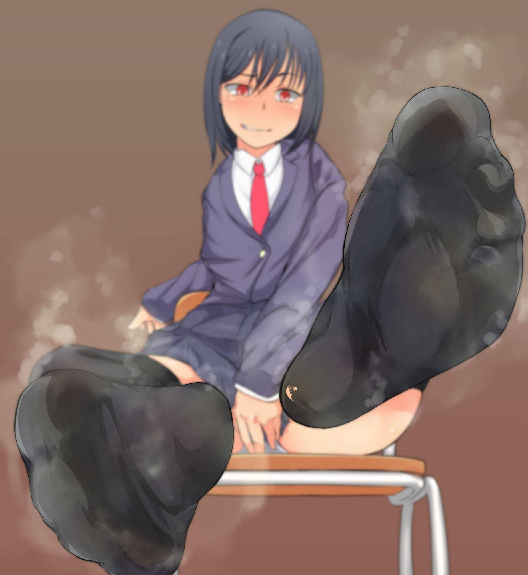 【上級者向け】くさそうな足の二次エロ画像【32】