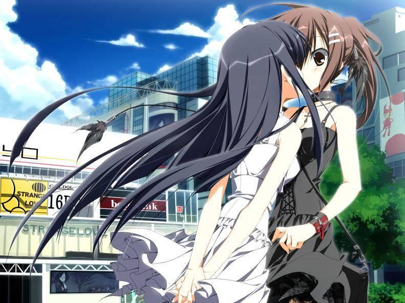 【若気の至り】街中でキスしてる恥知らずなカップル達の二次画像【8】