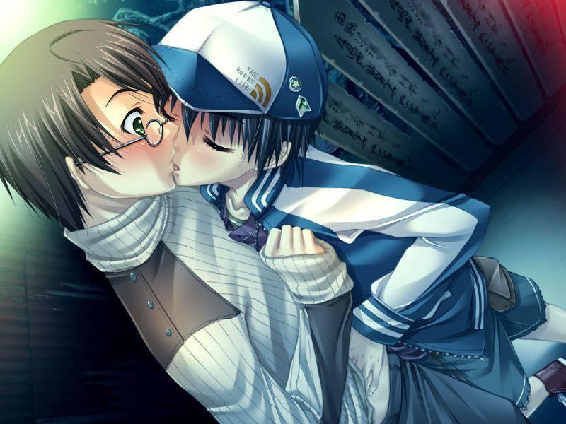 【若気の至り】街中でキスしてる恥知らずなカップル達の二次画像【19】