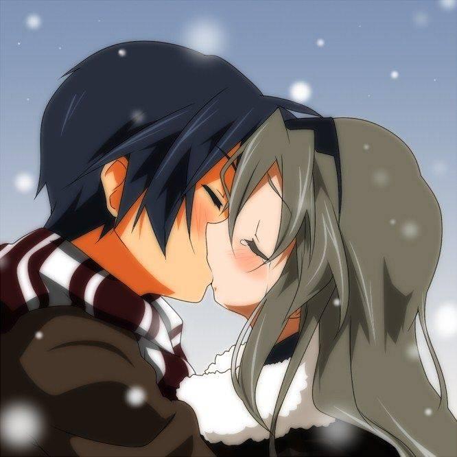 【若気の至り】街中でキスしてる恥知らずなカップル達の二次画像【20】