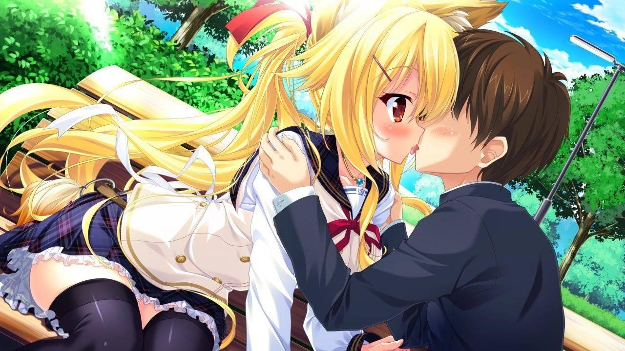 【若気の至り】街中でキスしてる恥知らずなカップル達の二次画像【23】