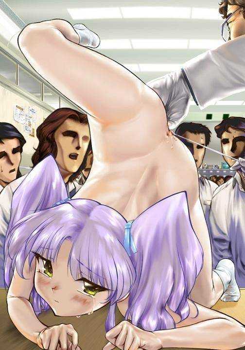 【性的イジメ】みんなの前で晒し者になってる二次エロ画像【27】