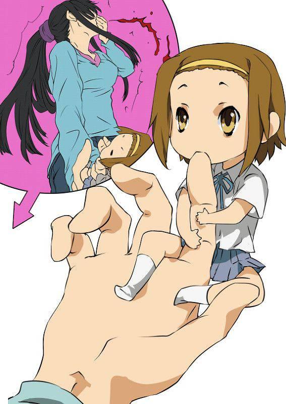 【リアクションが昭和】興奮して鼻血ブーしてる女子達の二次エロ画像【24】
