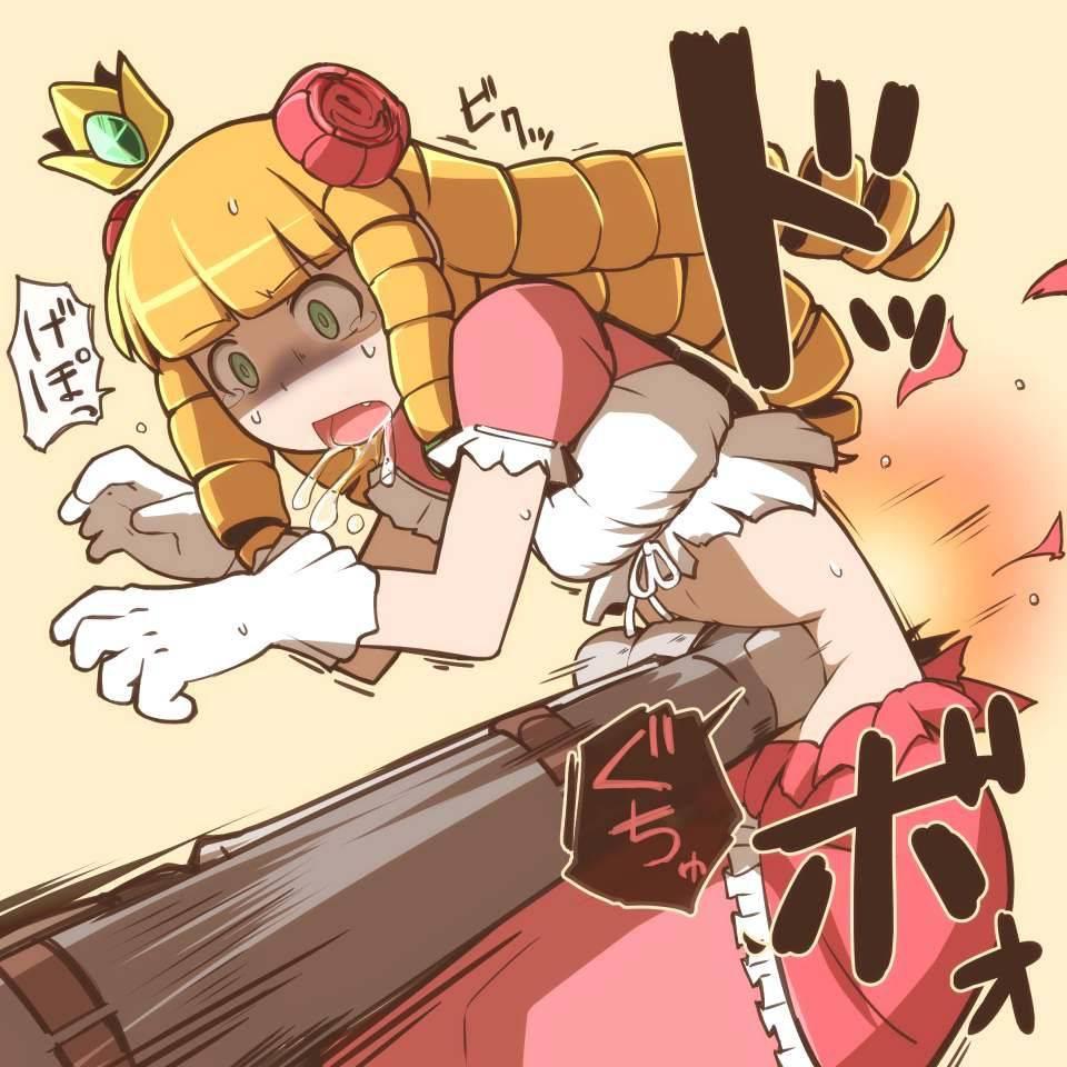 【悶絶】腹パンされてゲロ吐いてる二次エロ画像【23】