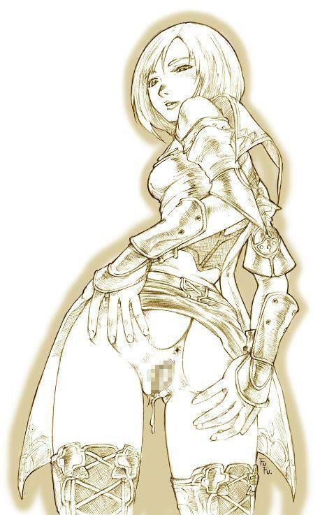 【FF12】アーシェ・バナルガン・ダルマスカのエロ画像【ファイナルファンタジーXⅡ】【13】