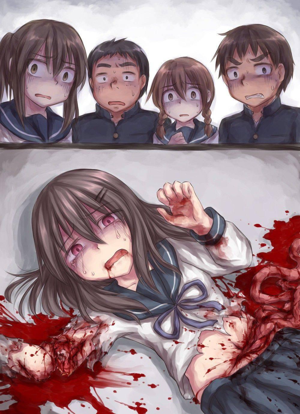 【瀕死】もう少ししたら死ぬんだろうなって状況の二次リョナ・グロ画像