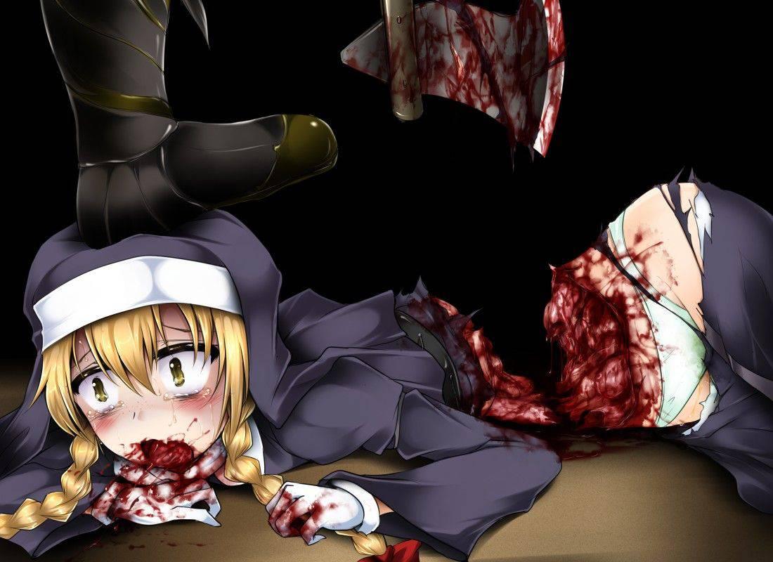 【瀕死】もう少ししたら死ぬんだろうなって状況の二次リョナ・グロ画像【27】