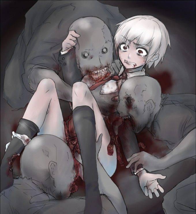 【瀕死】もう少ししたら死ぬんだろうなって状況の二次リョナ・グロ画像【31】