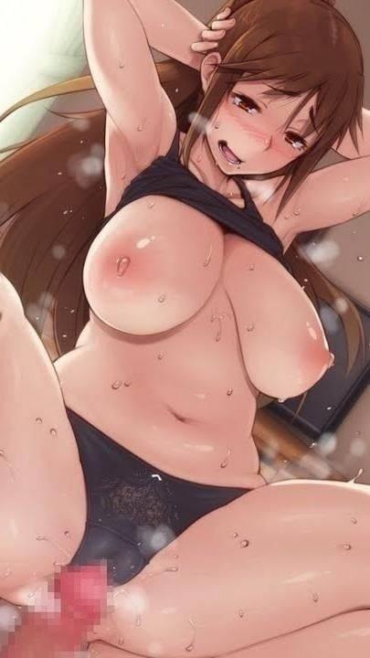 【加湿器代わり】汗をかいて体からムワっと湯気がでてる女子達の二次エロ画像【4】