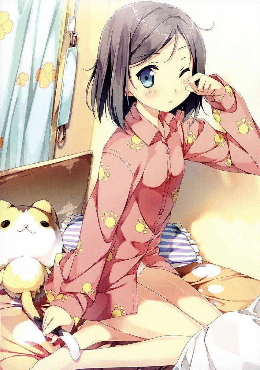 【おはよう】寝起きな女の子の二次エロ画像【27】