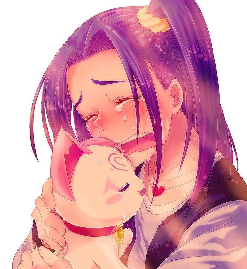 【もらい泣きしそう】号泣してる女の子の二次画像【4】