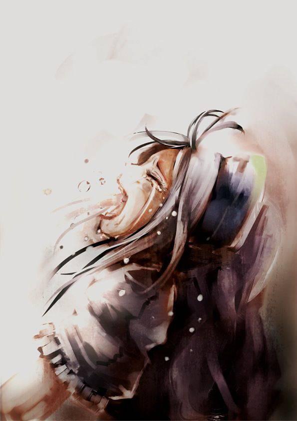 【もらい泣きしそう】号泣してる女の子の二次画像【13】