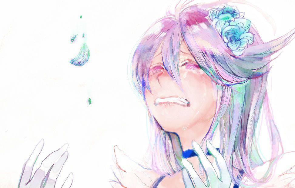 【もらい泣きしそう】号泣してる女の子の二次画像【19】