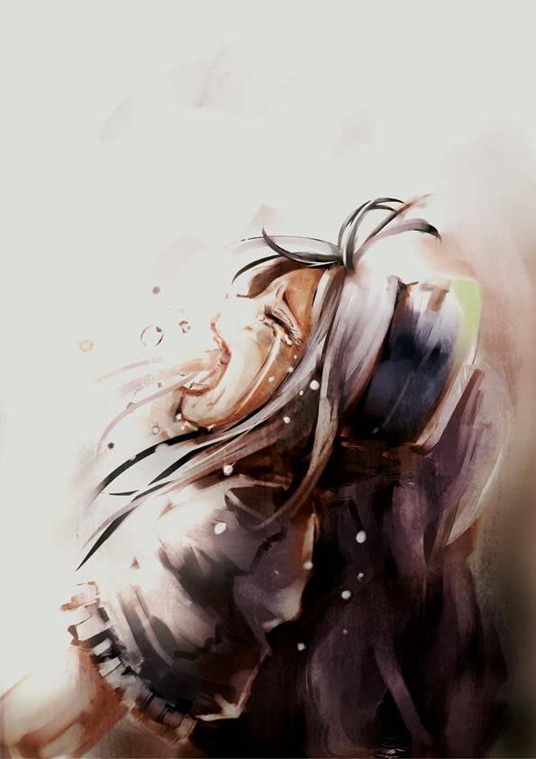 【もらい泣きしそう】号泣してる女の子の二次画像【24】