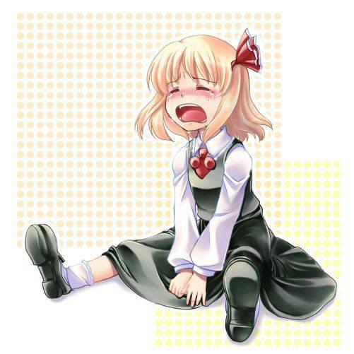 【もらい泣きしそう】号泣してる女の子の二次画像【28】