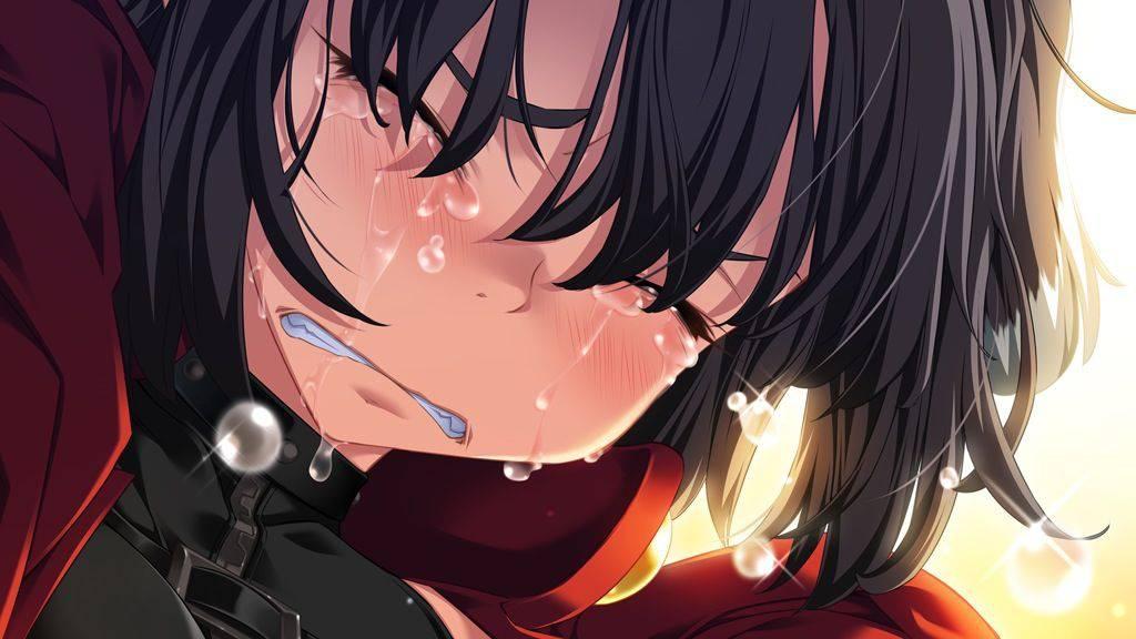【もらい泣きしそう】号泣してる女の子の二次画像【30】