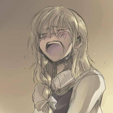 【もらい泣きしそう】号泣してる女の子の二次画像【31】