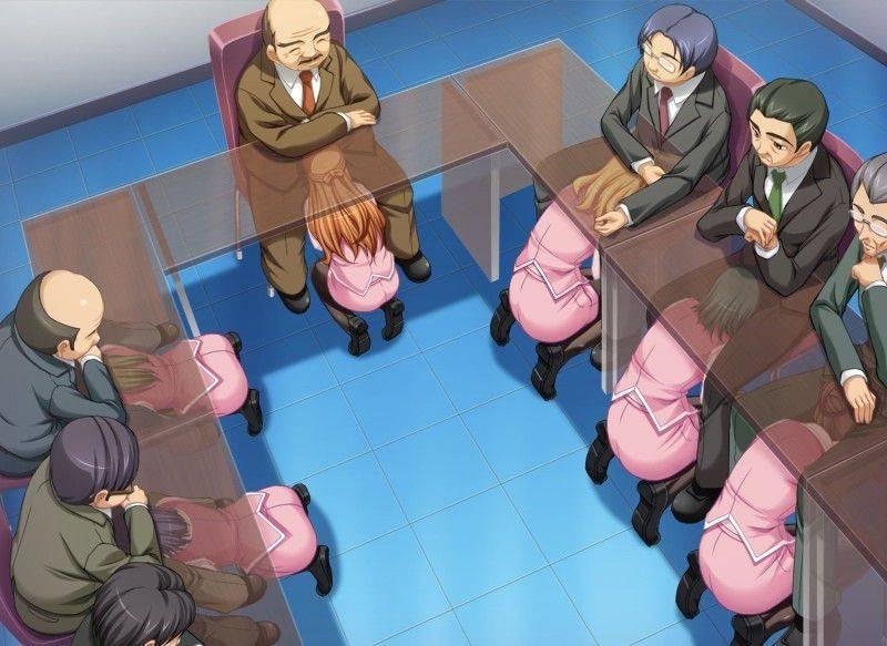 【社会人あるある】秘書とか部下に机の下でフェラチオさせてる二次エロ画像【23】