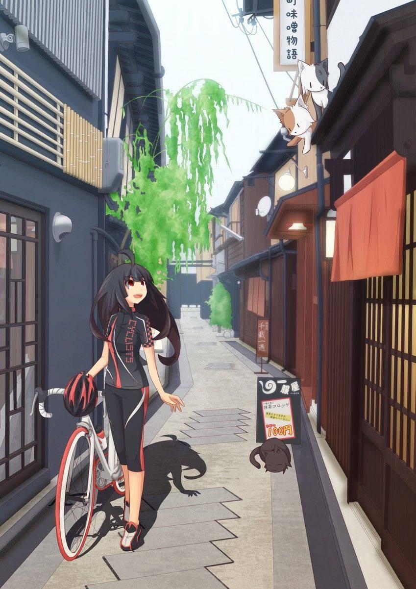 【ロードバイク】本格的な自転車に乗ってる女子達の二次画像【3】