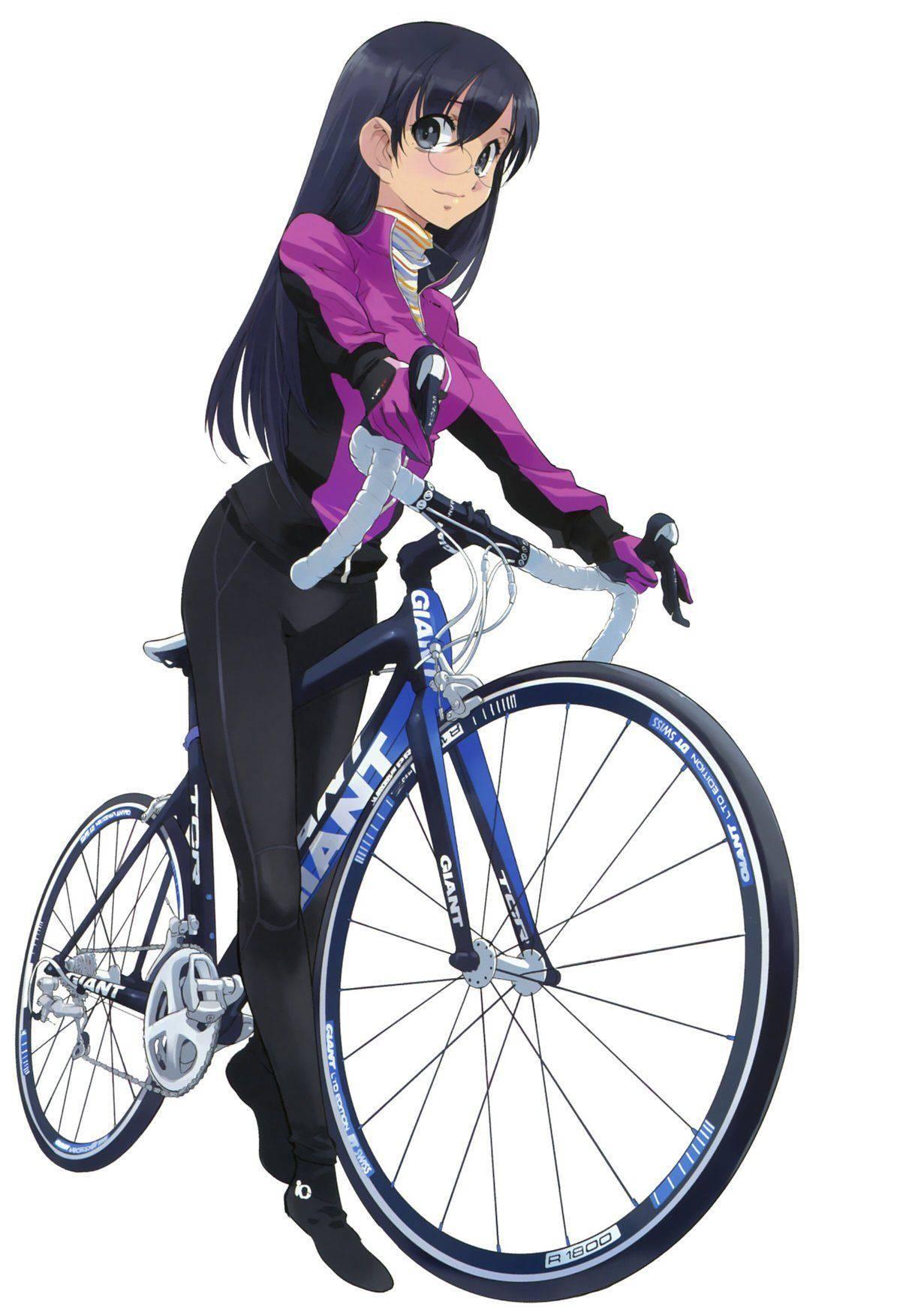 【ロードバイク】本格的な自転車に乗ってる女子達の二次画像【23】