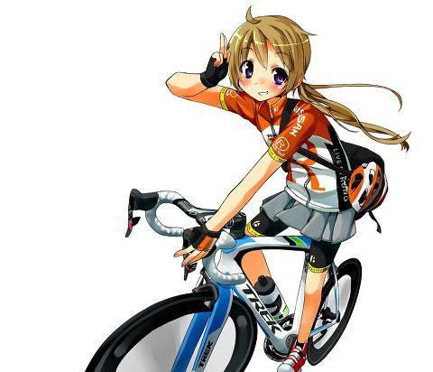 【ロードバイク】本格的な自転車に乗ってる女子達の二次画像【25】