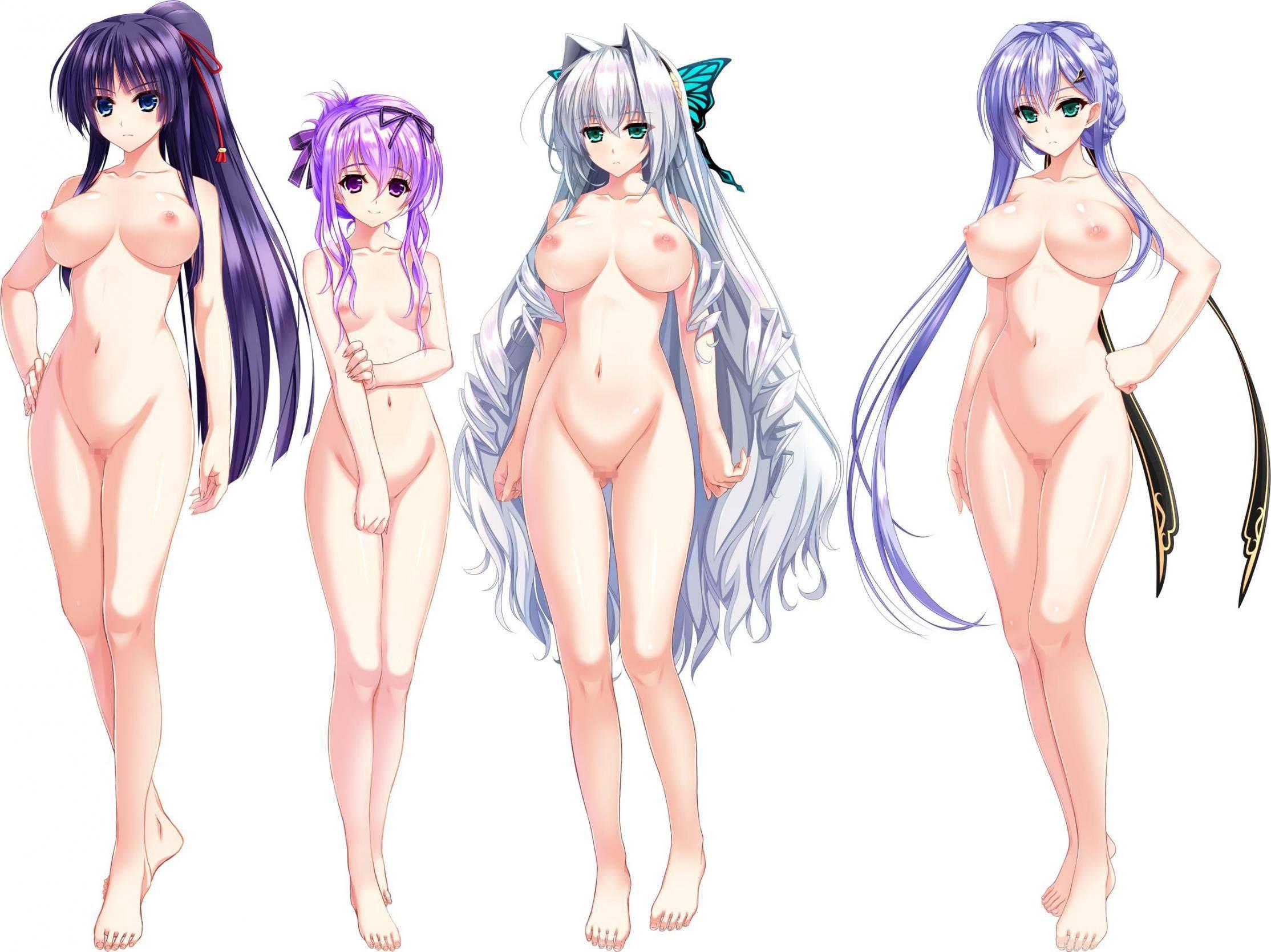 【どれにしようかな?】女の子達が全裸で立ってる二次エロ画像【23】