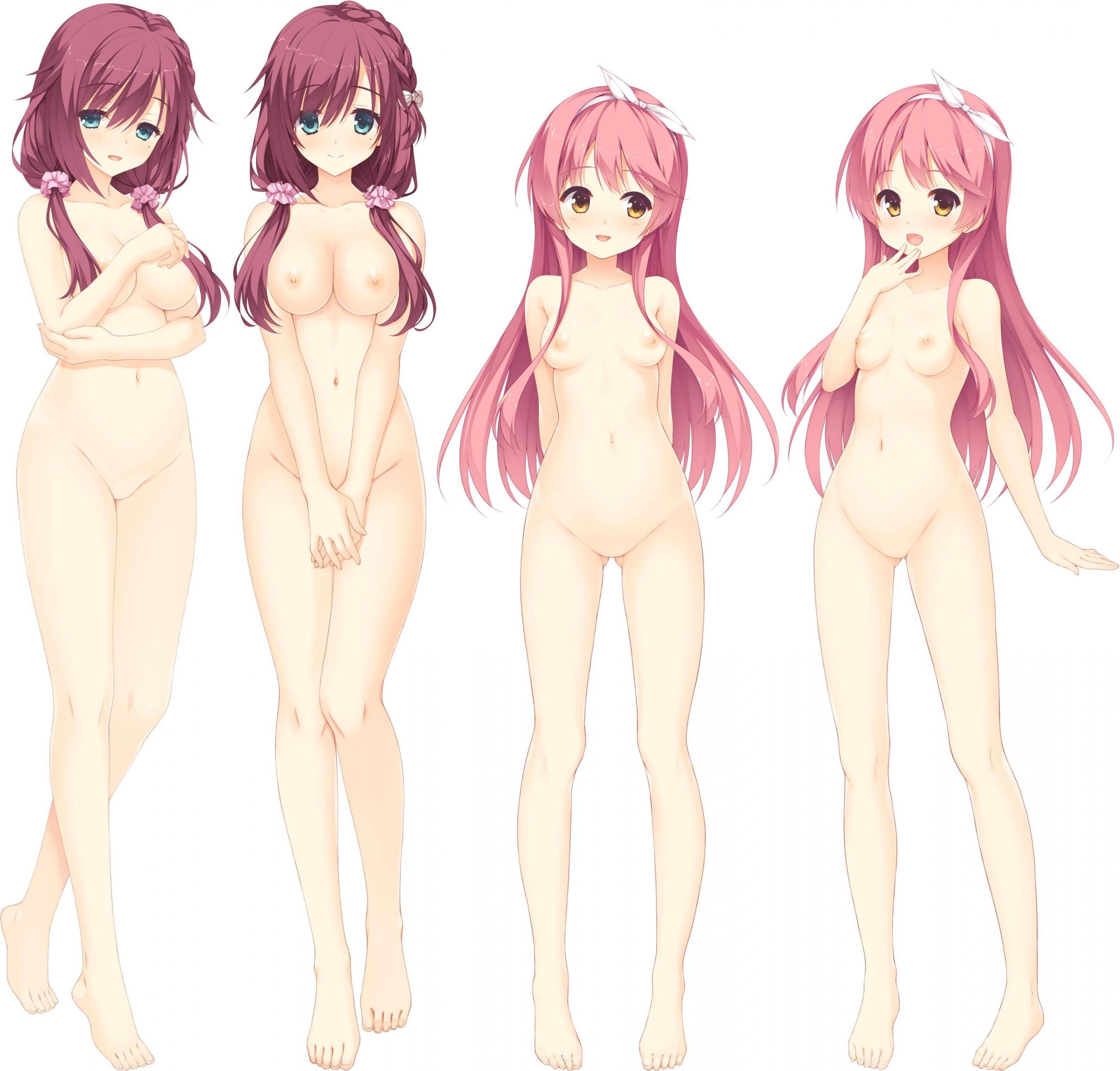 【どれにしようかな?】女の子達が全裸で立ってる二次エロ画像【28】