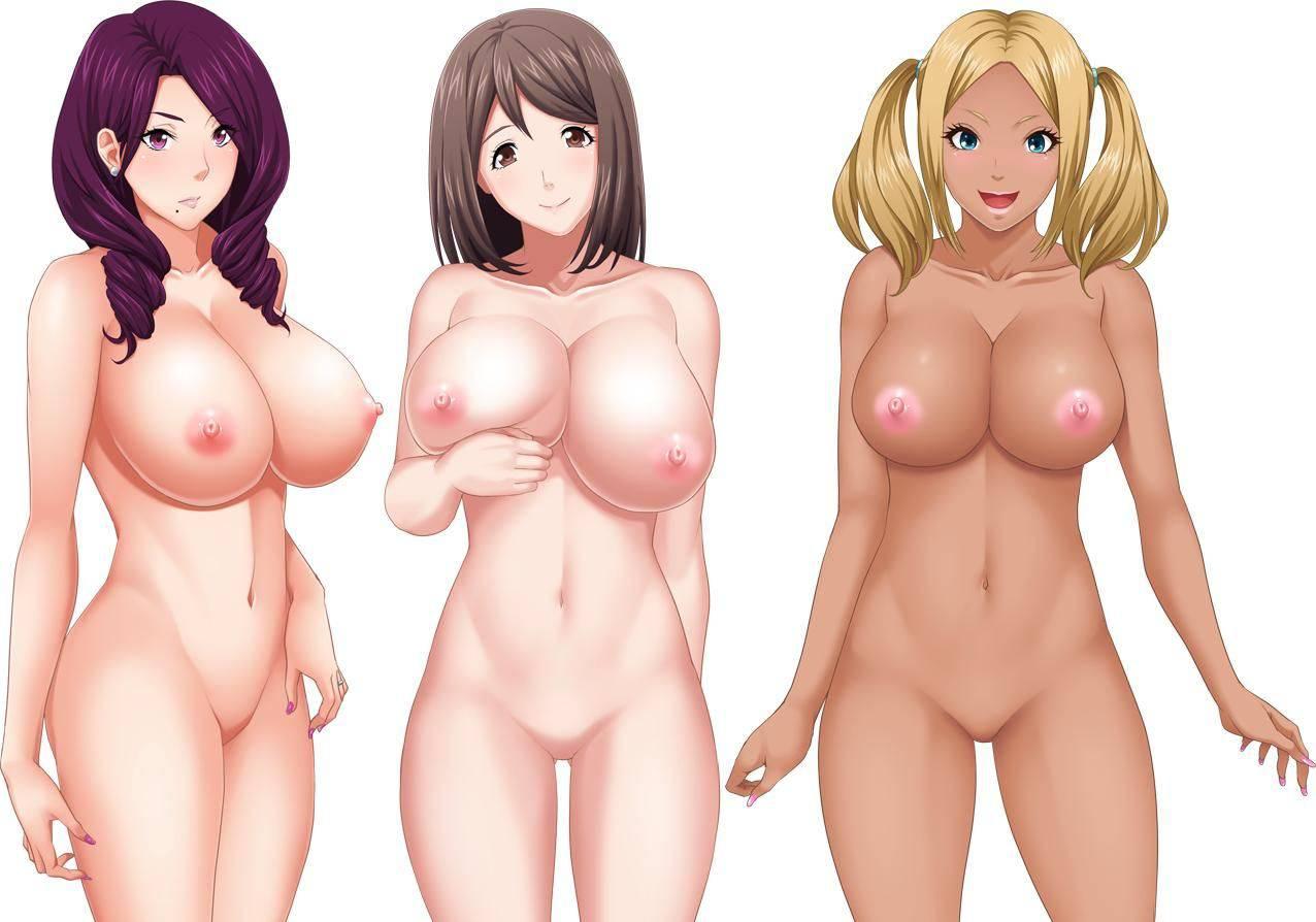 【どれにしようかな?】女の子達が全裸で立ってる二次エロ画像【35】