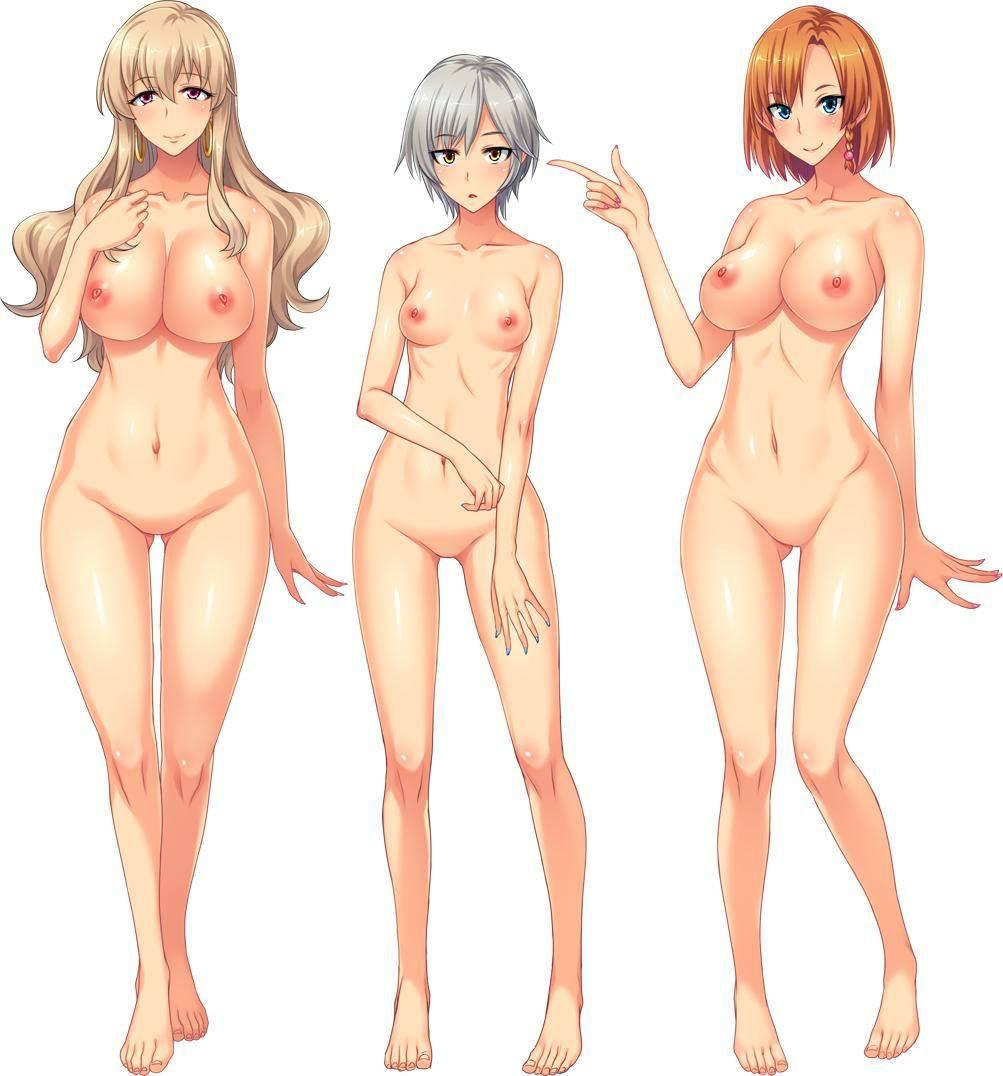 【どれにしようかな?】女の子達が全裸で立ってる二次エロ画像【40】