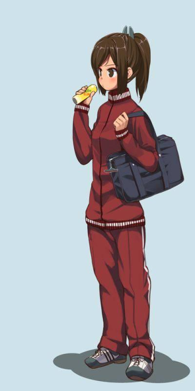【ダサかわいい】学校指定ジャージの二次エロ画像【25】