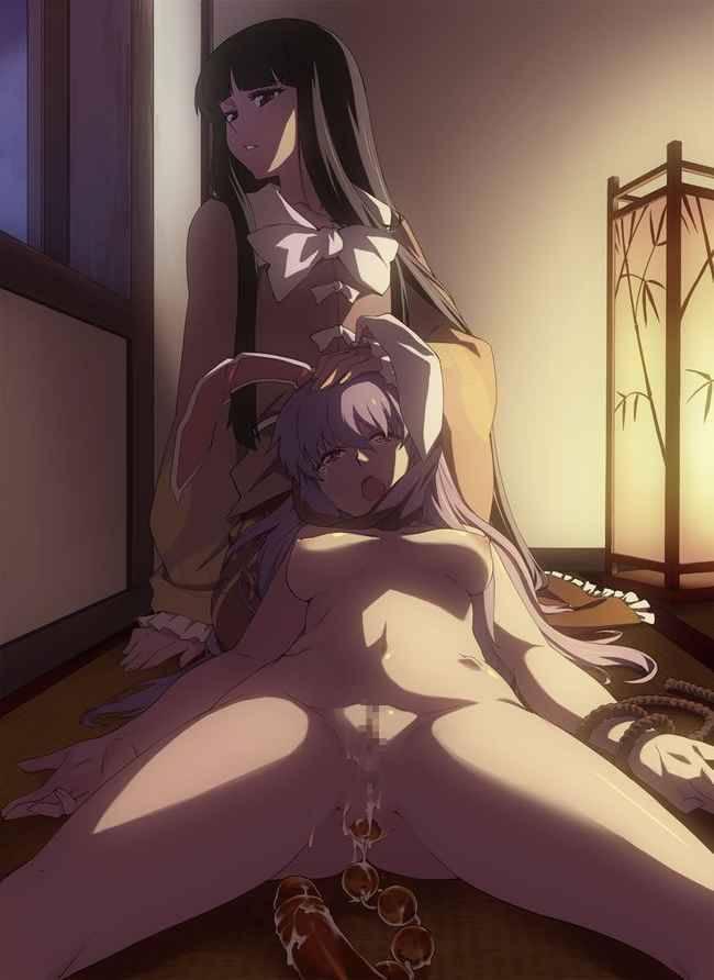 【調教】アナルビーズ肛門に入れてる二次エロ画像【5】