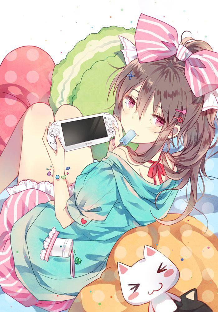 【携帯機編】ゲームで遊ぶ女子達の二次画像【5】