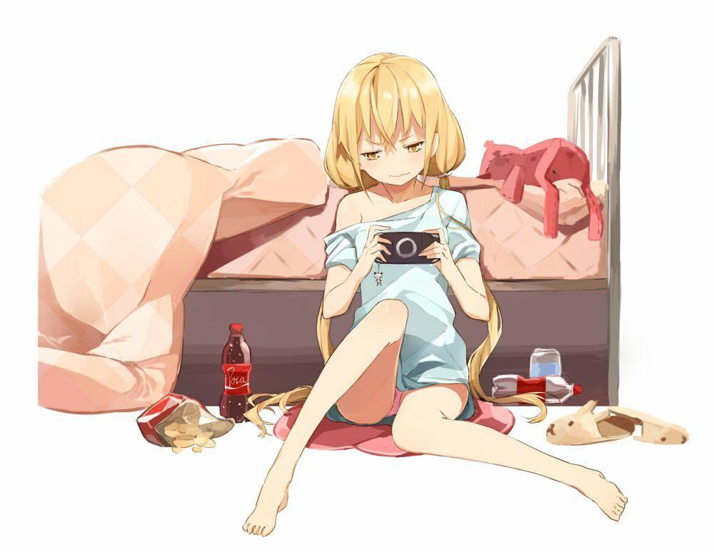 【携帯機編】ゲームで遊ぶ女子達の二次画像【18】