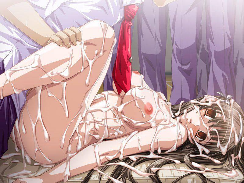 【精神崩壊】輪姦されて完全に心が壊れてしまった女の子達のレイプ目二次エロ画像【4】