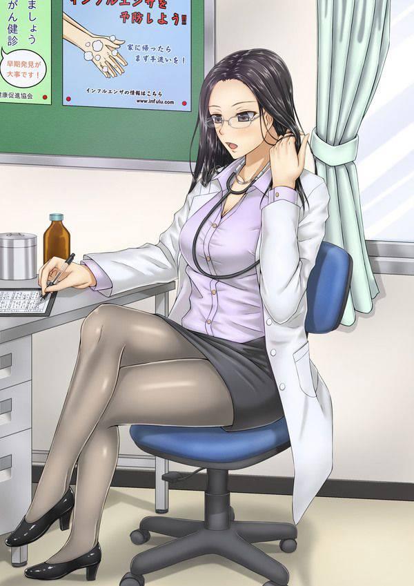 【知性の中にエロスがある】女医の二次エロ画像【6】