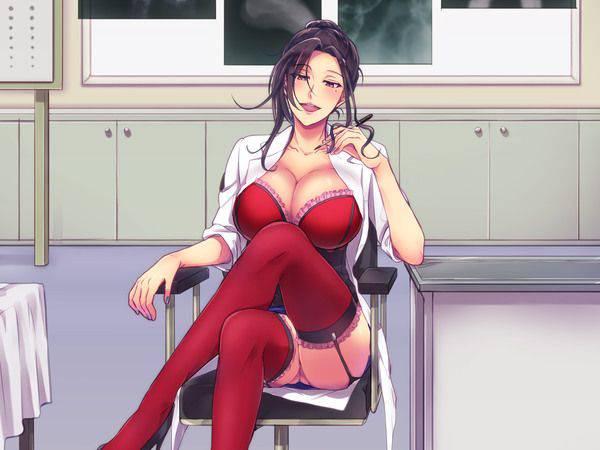 【知性の中にエロスがある】女医の二次エロ画像【10】