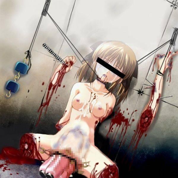 【悲惨】オカコロされちゃった女の子達の二次エログロ画像【3】