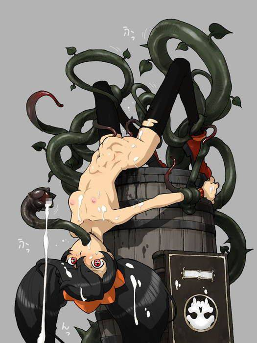【ヌルヌル】触手に陵辱されてる二次エロ画像【6】
