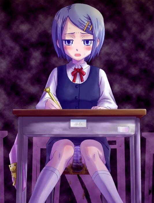 【人生オワタ】ウンコ漏らして泣いてる女子の二次エロ画像【16】