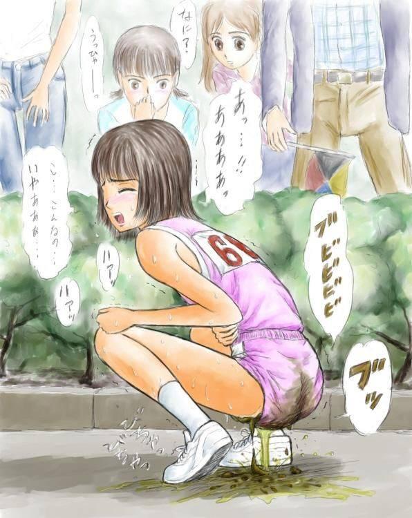 【人生オワタ】ウンコ漏らして泣いてる女子の二次エロ画像【26】