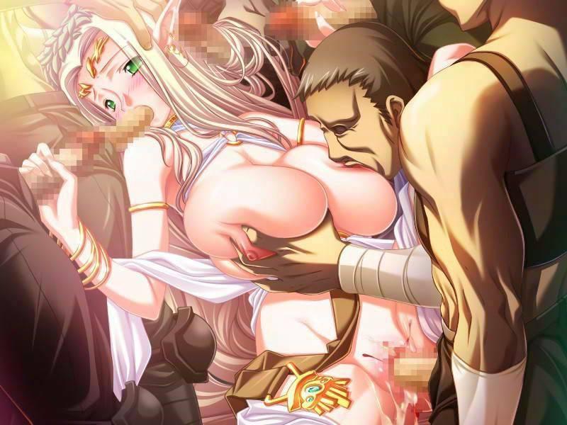 【敗戦国の末路】王女とかお姫様っぽい少女がレイプ・輪姦されてる二次エロ画像【31】