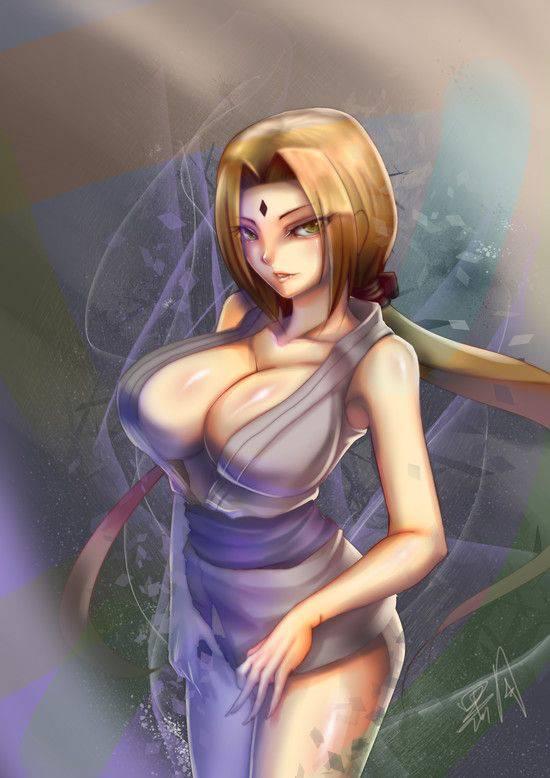 【NARUTO】綱手(つなで)のエロ画像【30】